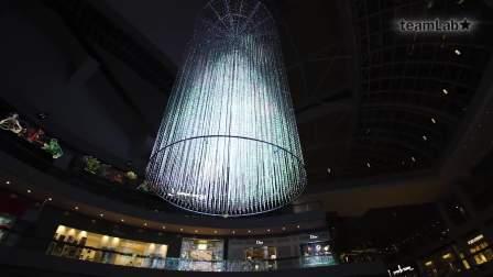 teamLab水晶树 / teamLab Crystal Tree