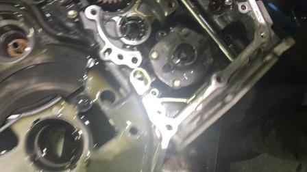 尼桑阳光骐达CVT变速箱故障维修