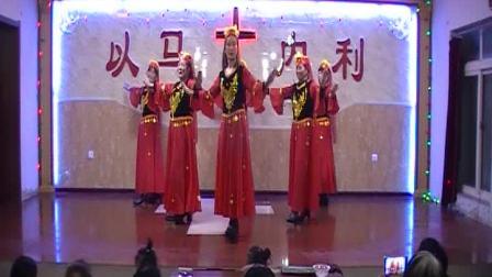 达牛大田圣诞节舞蹈  伯大尼的马利亚
