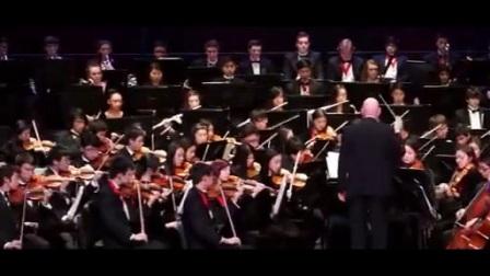 乐团现场演奏《最后的莫西干人》震撼 大气