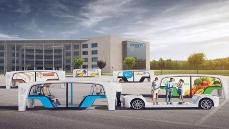 换壳不换底盘的自动驾驶概念车Rinspeed公布Snap概念车视频