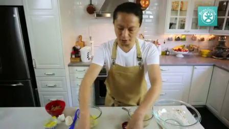 戚风纸杯蛋糕 制作蛋糕的方法视频 烘焙视频教程全集