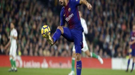 路易斯·苏亚雷斯被评为12月西甲最佳球员