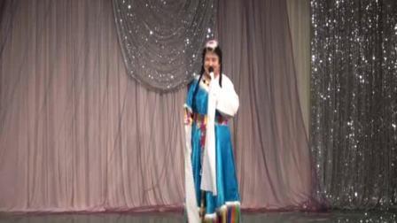 2015海鸥合唱团元旦联欢会  女声独唱  九色甘南