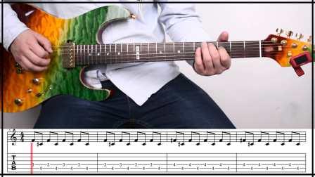 声线光影电吉他教学第十八期《热爱》小武讲解