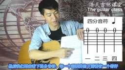【第四课】吉他基本节奏 音符入门 打拍子 教学