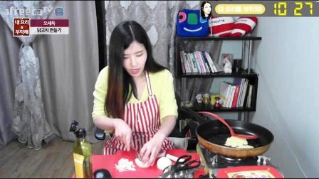 韩国美女主播热舞夏娃