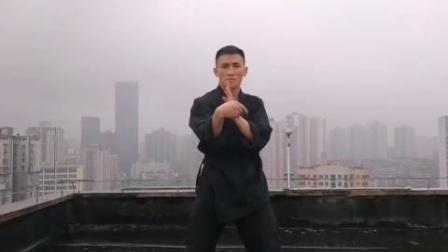流B啊   这家伙咏春拳打出了李小龙的风格?