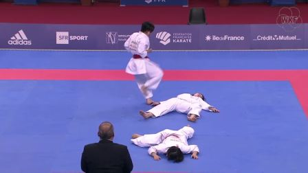 JAPAN Female Team Kata, Karate1 Premier League - Paris 2018