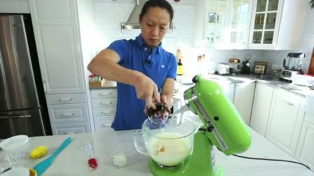海绵纸杯蛋糕的做法 8寸蛋糕用多少淡奶油 蛋糕制作视频