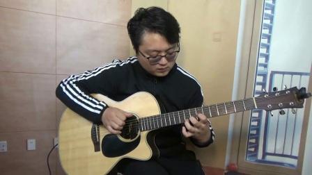 七星指弹教室指弹吉他曲《Departure》