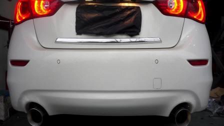 英菲尼迪Q50 2.0T改装FWD中尾段可变阀门排气+MTB回火程序声浪视频