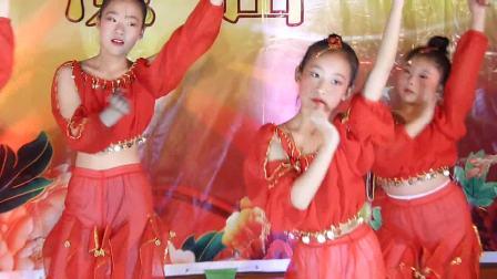 小太阳艺术培训班大班舞蹈印度舞