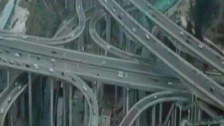 最复杂的立交桥,在这里导航都没用,太复杂了