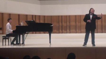 我国著名男高音歌唱家唐竹雅教授震撼演唱《海恋》