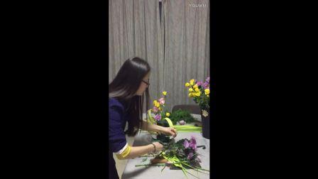 丝网花孔雀制作视频 水生花卉 节鲜花图片