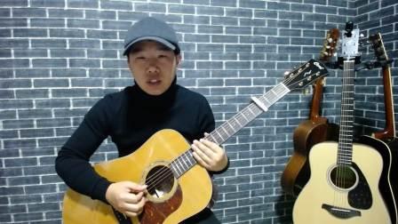 岸部真明 time travel 指弹吉他 教学 讲解 演示 第1部分 琴龙吉他教室 子曰老师