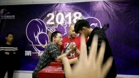 2018第一届马力仕杯腕力争霸赛右手集锦