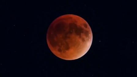 152年难遇-超级蓝月亮-月全食