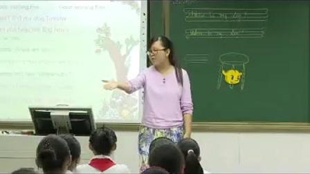 科普版小学英语四年级上册《Lesson 10 Where is my dog》教学视频,刘琰