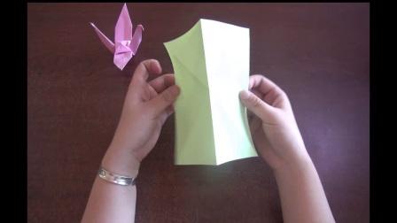 中一班《折纸鹤》王嘉祺