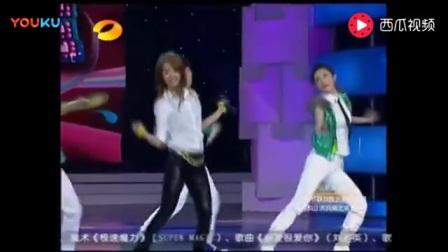当年蔡依林教谢娜跳舞, 真是太搞笑了