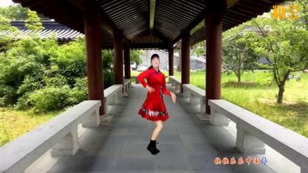 太湖一莲广场舞 红红火火中国年背面