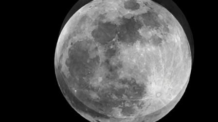 2018.2.1凌晨大月亮