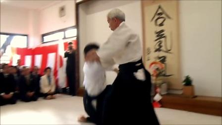 2018 本部道场镜开仪式道主演武