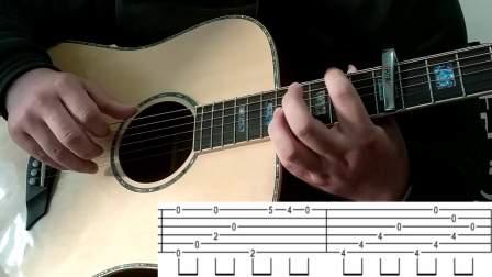 Topper吉他教学视频 岸部真明 流行的云第三部分 (附原版吉他谱)