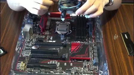 DIY装机教程:intel平台的主板、CPU、内存安装教程