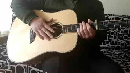 Topper吉他教学视频 岸部真明 流行的云第四部分 (附原版吉他谱)