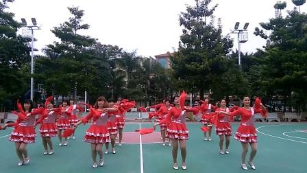 玉霞健身队快板舞蹈《同心共筑中国梦》