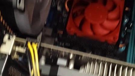 昂达主板不通电!键盘灯不亮!
