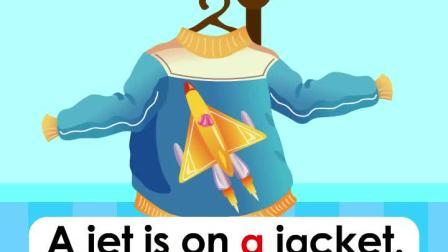 Alphabet---Letter Jj