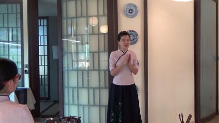 天晟茶艺学员,培训后的感想