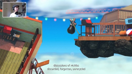 [Getting Over It] Ep.1 挺好的游戏
