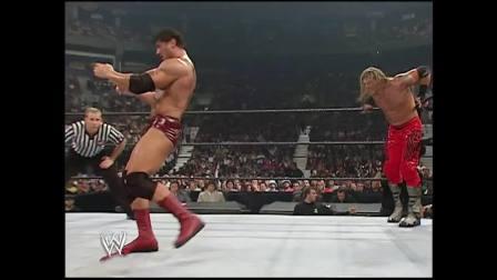 WWE夏日冲击2004chirs jericho vs batista vs edge