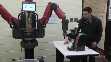 Baxter智能协作机器人准备咖啡 ~