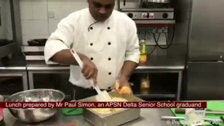 Chef Paul Prepare Meal Fit for President