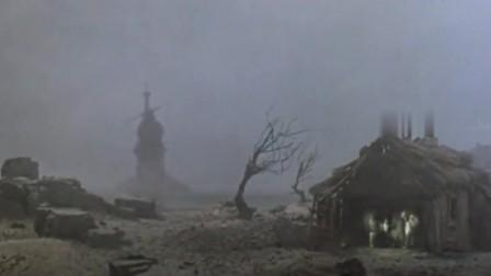 海边一家人正在吵架, 却被巨人一脚连房子带人踩了个粉碎