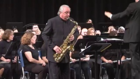 Concerto for Tenor Saxophone and Band