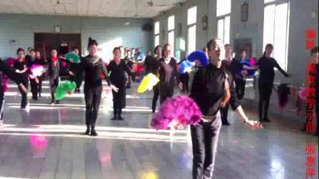 毛扇形体舞:春天的芭蕾<正、反面示范>