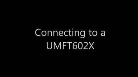 FT60x 配置实用程序