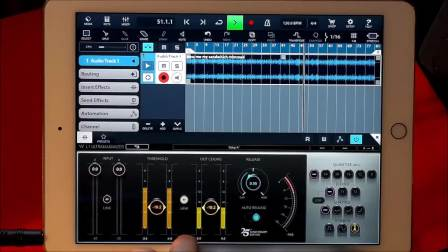 CUBASIS 2.3 - Let's Explore the WAVES L1 Ultramaximizer - Tutorial for the iPad