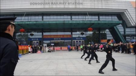 """东莞火车站""""闪""""送福,情暖回家路!"""