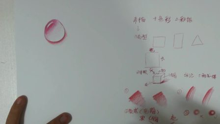 彩铅水滴画法视频