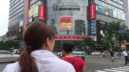 延时摄影: 春节前依然车水马龙光景, 坐标深圳民治大运发
