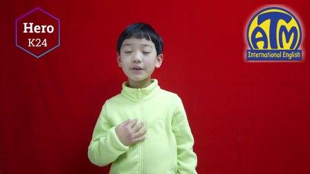【美国私塾英文拜年】来自K24Hero小朋友新春祝福
