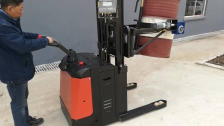 TD850-PWPL145-B全电动自行走称重倒桶车操作视频